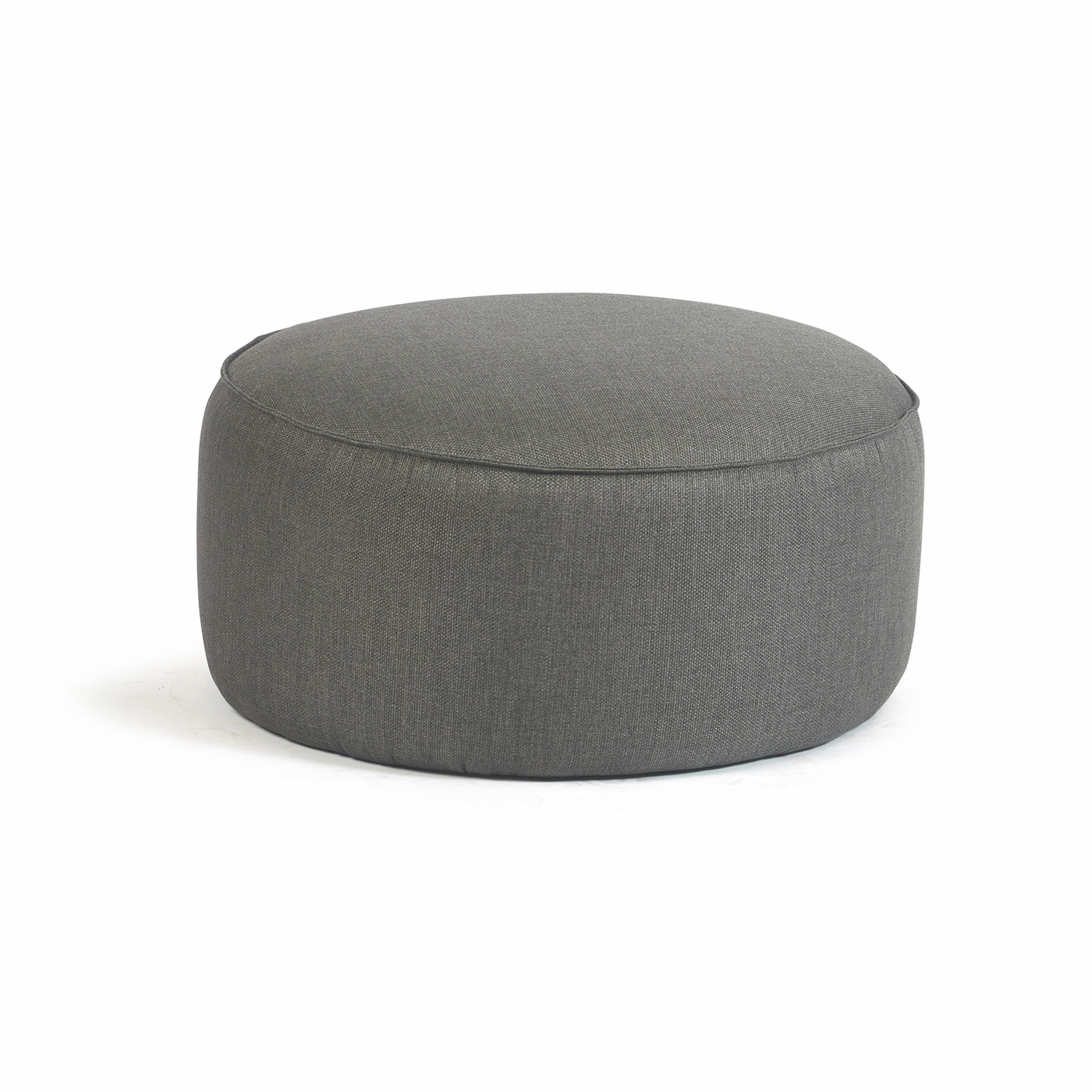 Easy-Fit Low Round Pouf 15