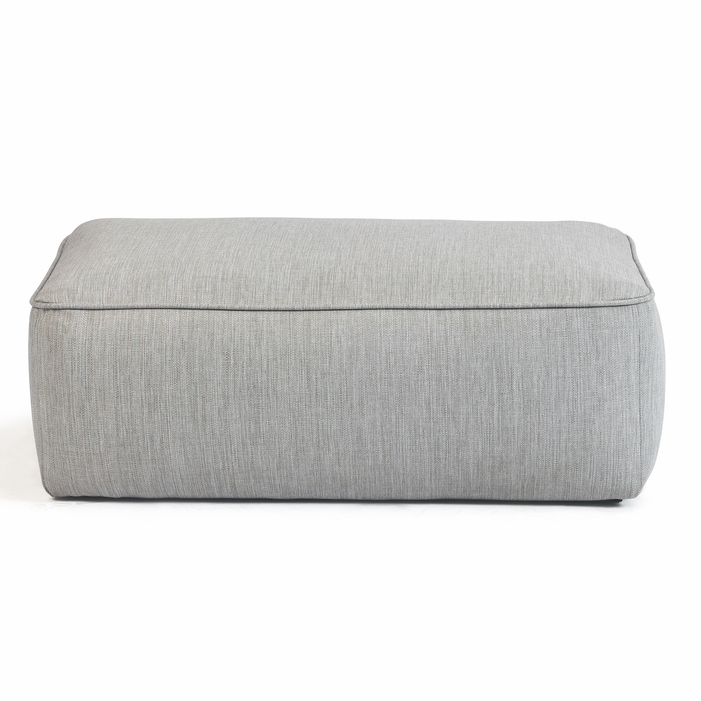 Easy-Fit Rectangle Pouf