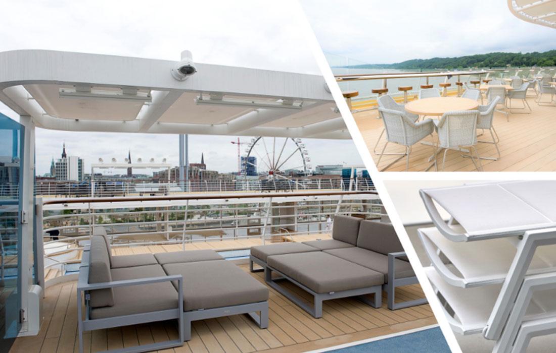 Marine Grade - The quality Cruise Ships need!