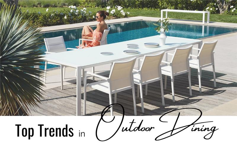 Top Trends in Outdoor Chairs