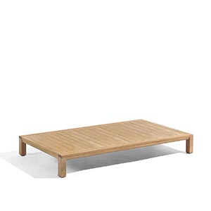 Natural Rectangle Lounge Table 59